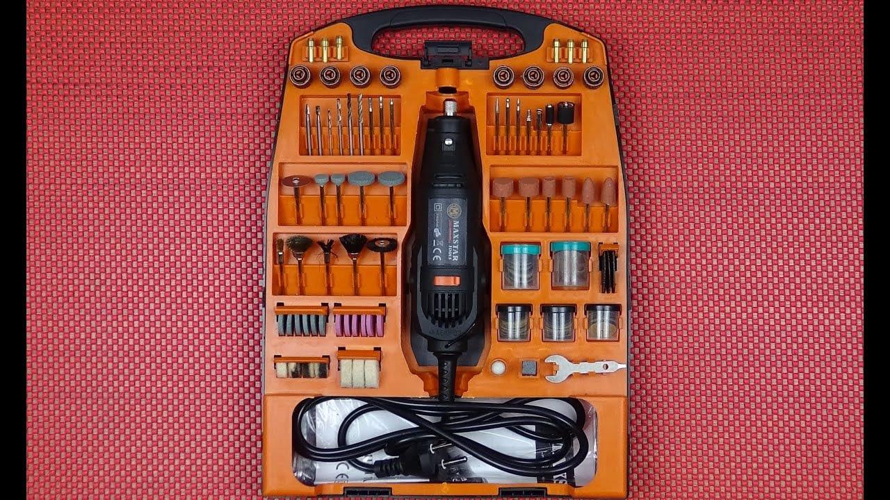 Maxstar Drilling Mini Grinding Engraver Review (Mini Grinder) (300 buah kit hobi)