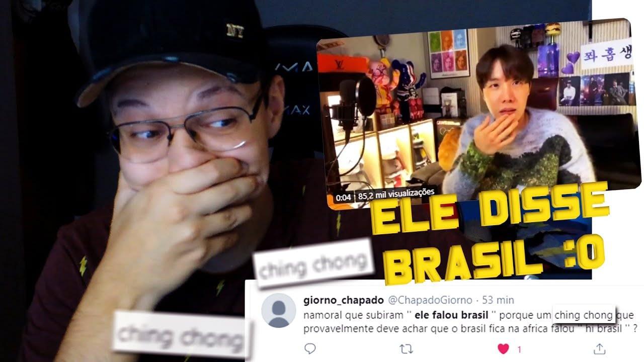 HOBI, SOLZINHO MENGATAKAN BRASIL !!!