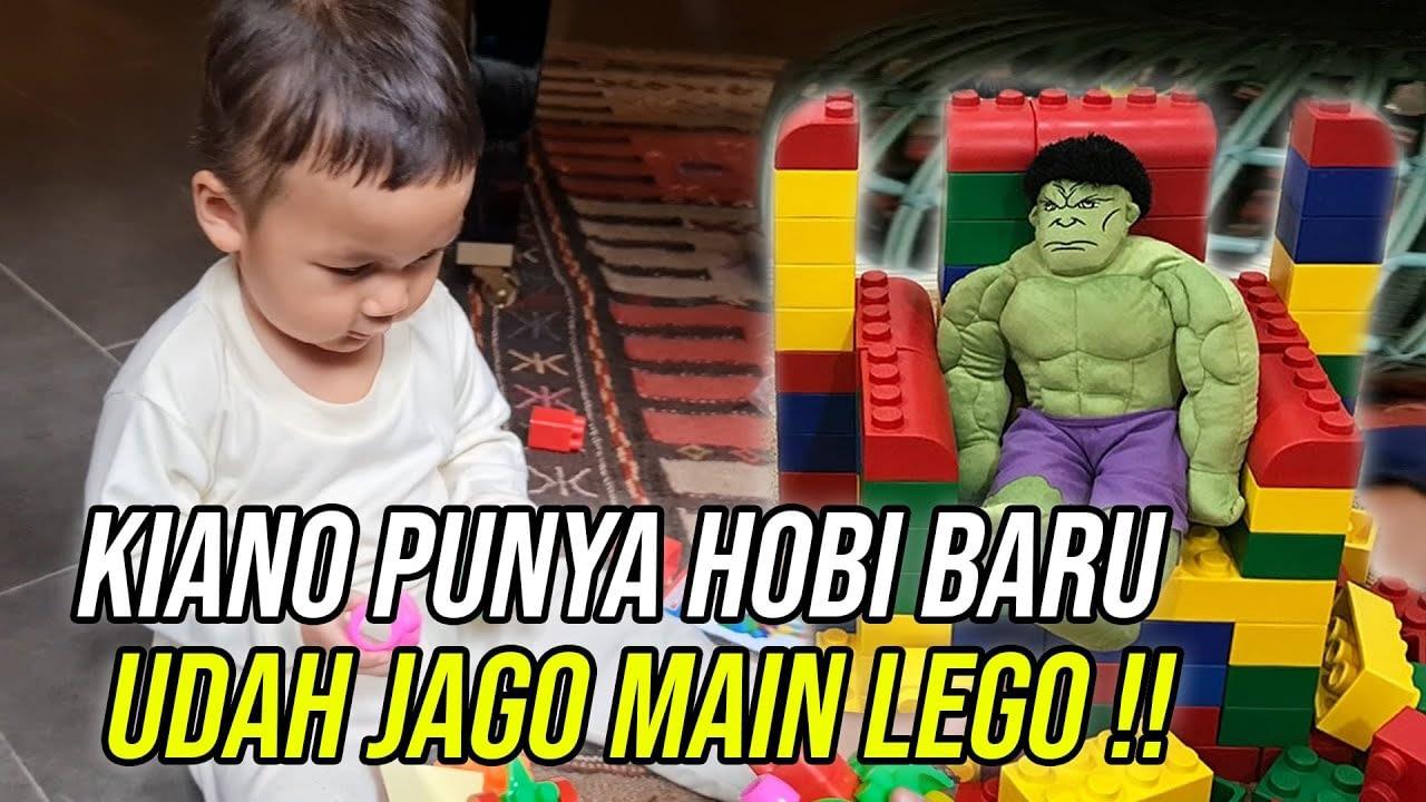KIANO PUNYA HOBI BARU !! UDAH GAMAU MAIN MOBIL - MOBILAN !!