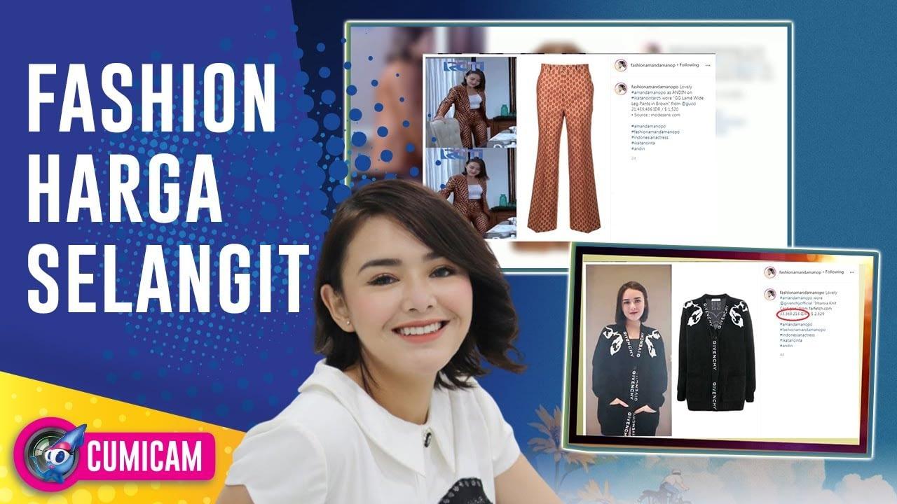 Hobi Belanja Barang Mewah, Ini Deretan Fashion Item dengan Harga Selangit Amanda Manopo – Cumicam