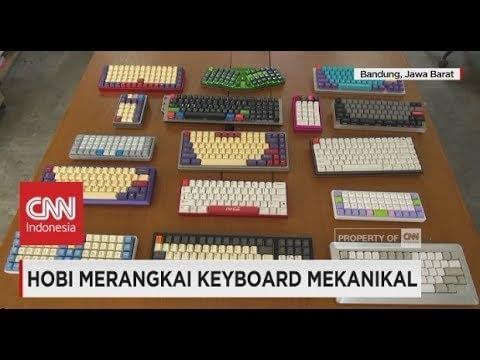 Hobi Merangkai Keyboard Mekanikal