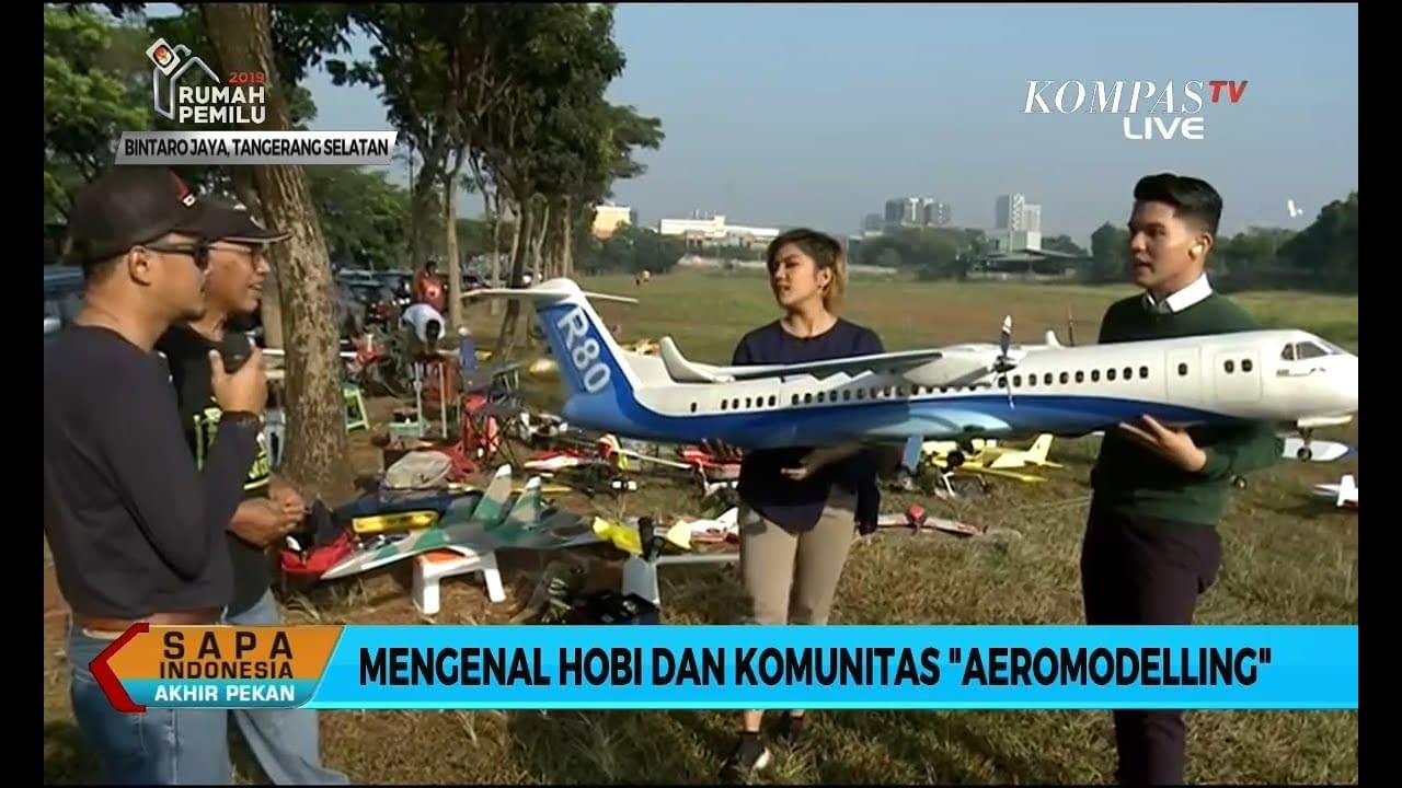 """Mengenal Hobi dan Komunitas """"Aeromodelling"""" (1)"""