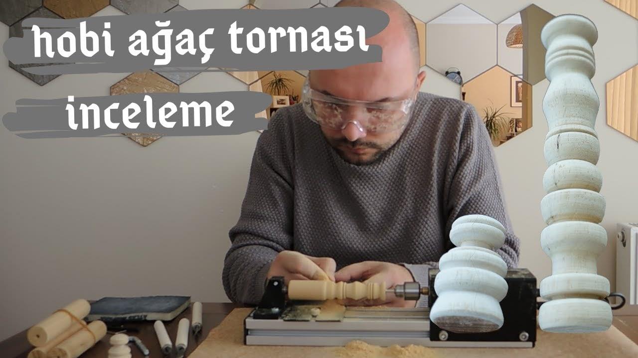 Review Mini Hobby Woodworking Bubut - Aplikasi
