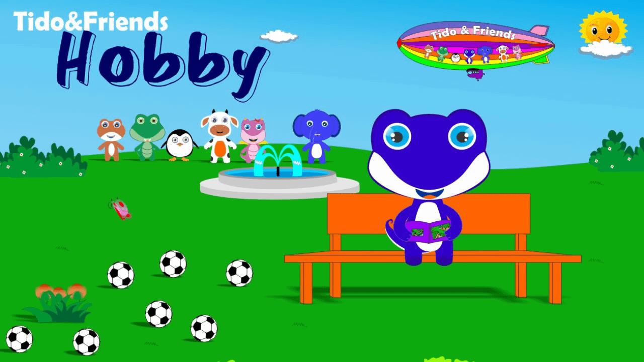 Hobby ( Hobi ) - Lagu Anak Indonesia  - Lagu Anak Terbaru Tidofriends