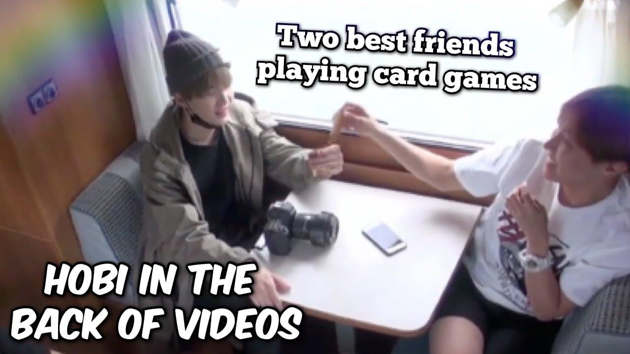 hobi di bagian belakang video