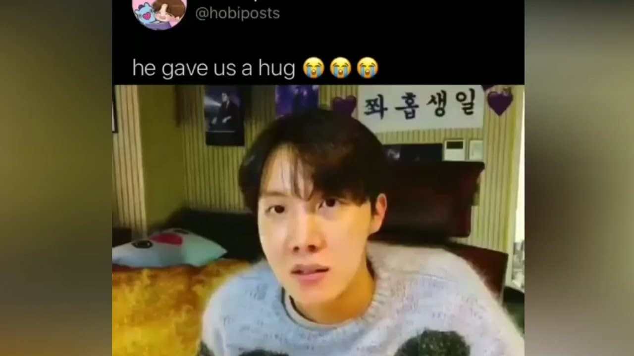ARMY Tweets / J-HOPE Memes karena HOBI Day nya